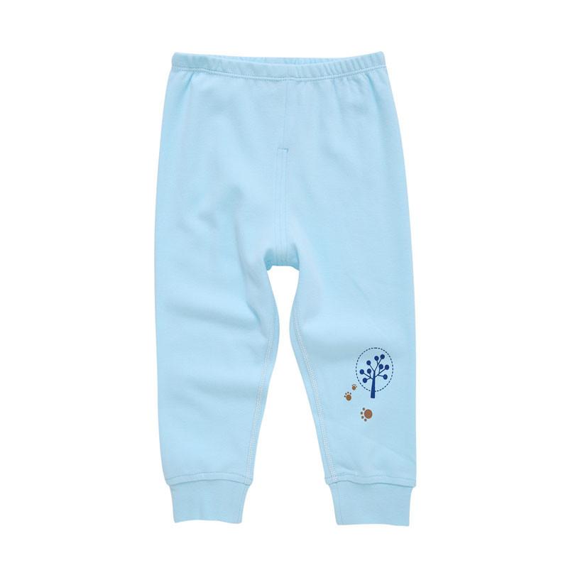 贝尔奇洛儿童裤子婴儿长裤男女宝宝秋冬款可开档新生儿裤子