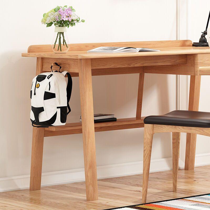 全实木电脑桌书桌办公桌