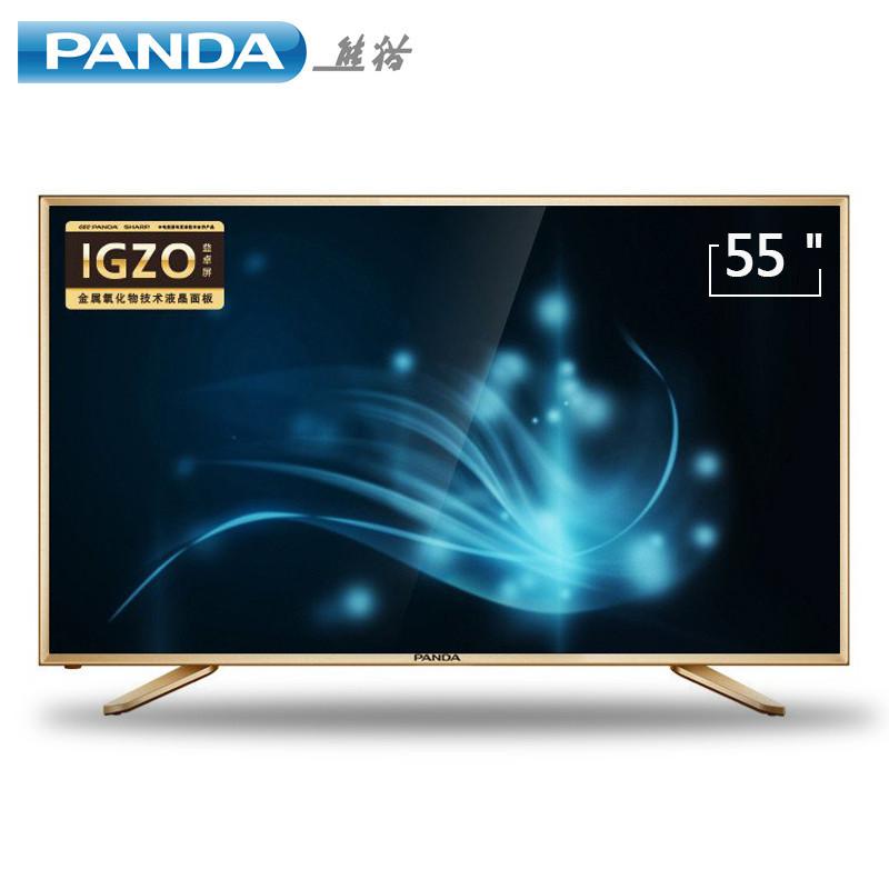 熊貓彩電le55d80s-ud 55英寸智能電視機4k高清led液晶