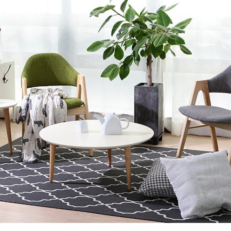 小圆茶几床头桌沙发边桌小圆桌小茶几现代简约角几边几小桌子北欧