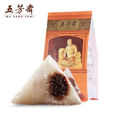 嘉兴特产五芳斋粽子 真空140克*2 经典口味豆沙粽