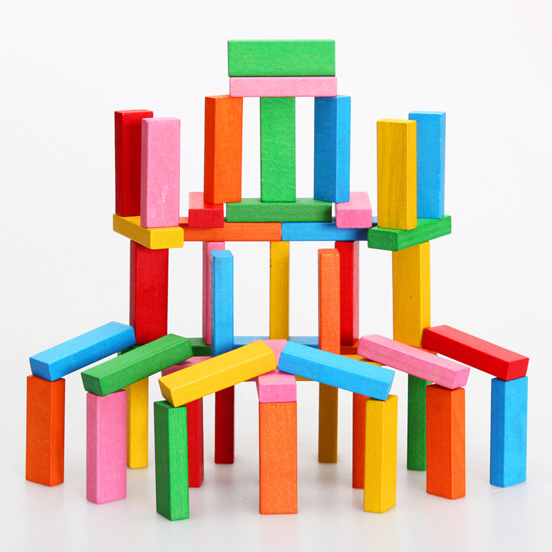 巧之木 积木玩具叠叠乐儿童益智拼装堆搭游戏 亲子互动拼插玩具