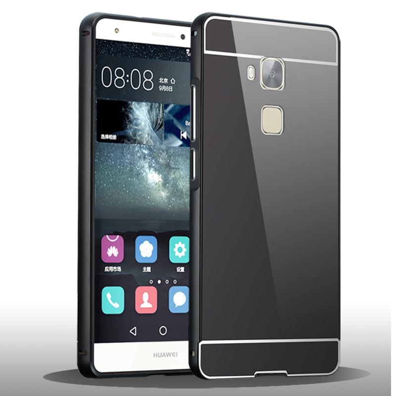 华为手机套_麦路 手机壳手机套金属边框外壳 适用于华为荣耀畅玩5x/kiw-tl00/al00