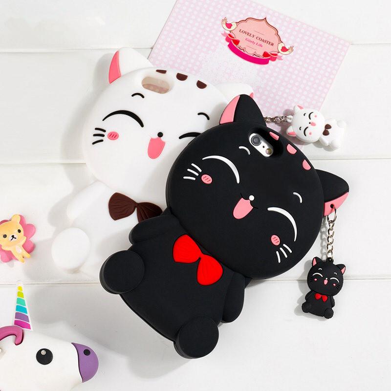 麦路小米note手机壳猫咪红米1s软硅胶卡通红米note/2/3挂绳可爱红米