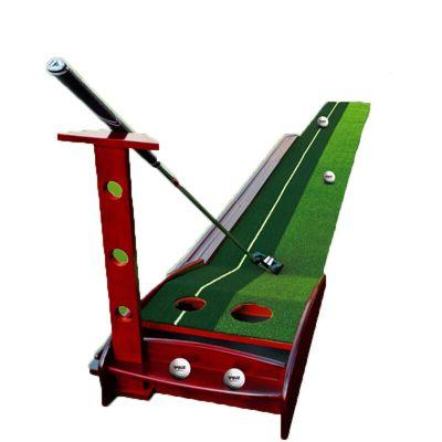 高爾夫推桿練習器 練習器 室內高爾夫推桿練習器套裝 自動回球軌道