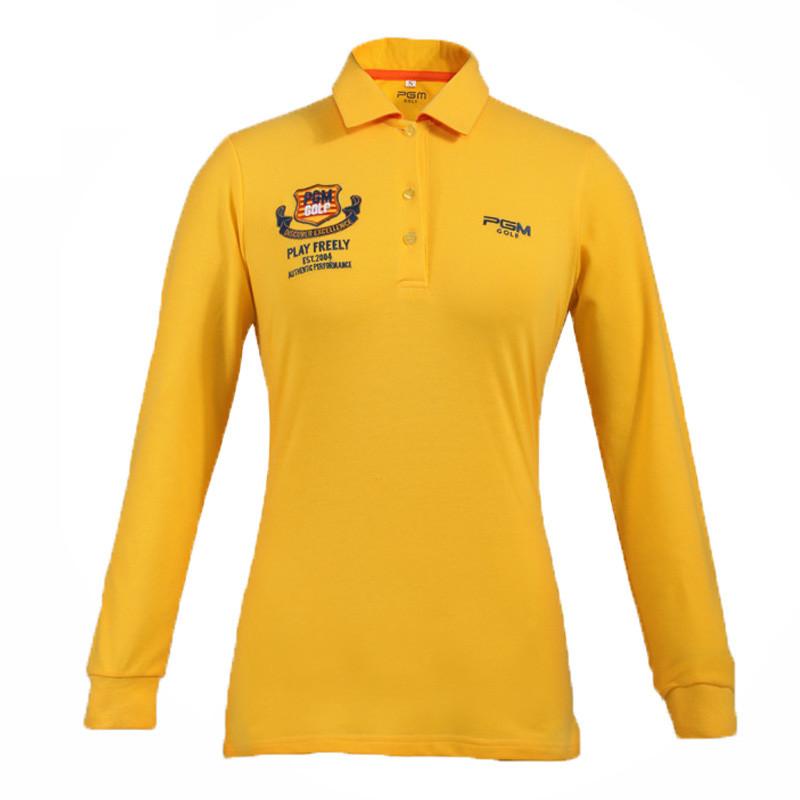 女装 高尔夫服装 高尔夫运动女士长袖衫 高尔夫长袖t恤 女款休闲长袖