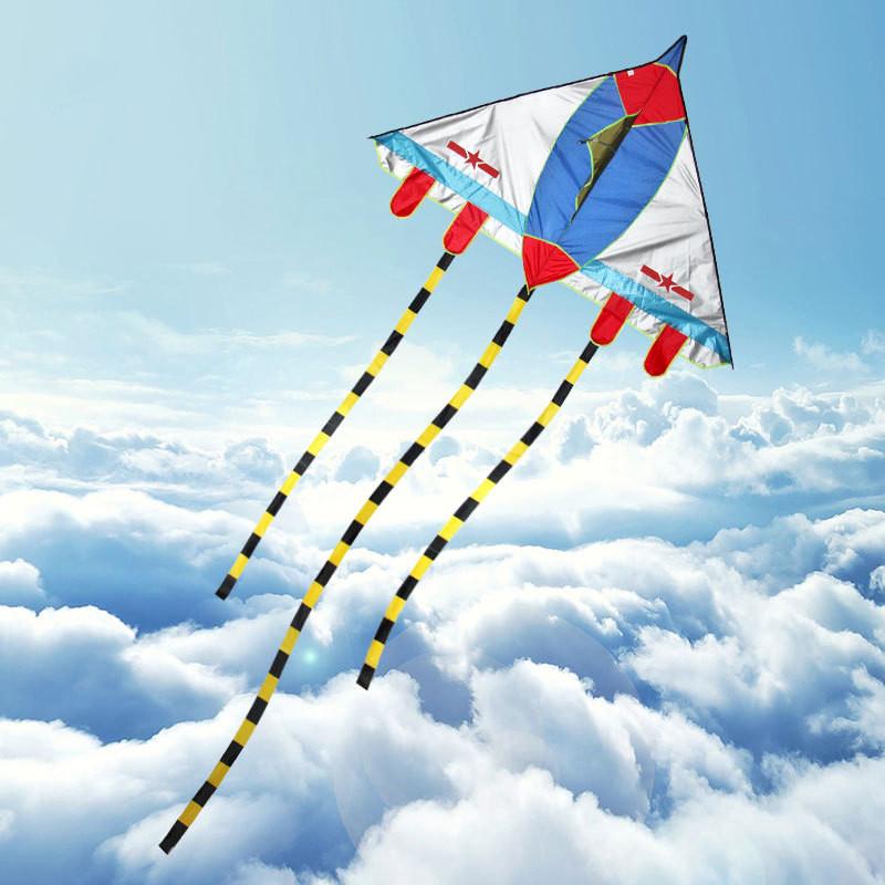 风筝 隐形战斗飞机风筝 儿童风筝 卡通三角风筝
