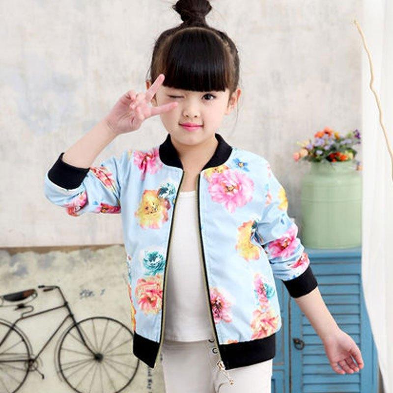 小童棒球服小女孩童装宝宝上衣简约可爱卡通印花小清新多款多色可选