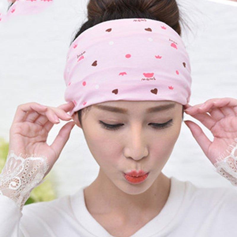 上新款孕妇帽子春夏季薄产后坐月子用品妈咪月子帽套头帽子卡通印花