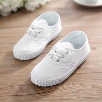 可莉允儿童帆布鞋和幼儿园小白鞋女童男童白球