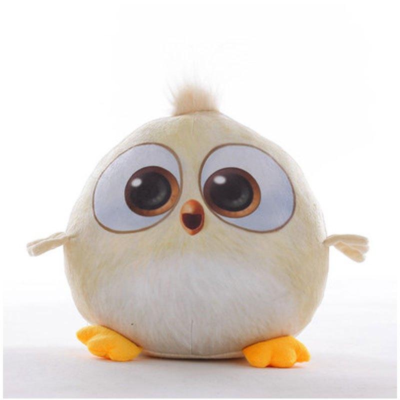 小孩子玩具愤怒的可爱卡通小鸟公仔抱枕大电影同款毛绒玩具娃娃六一儿
