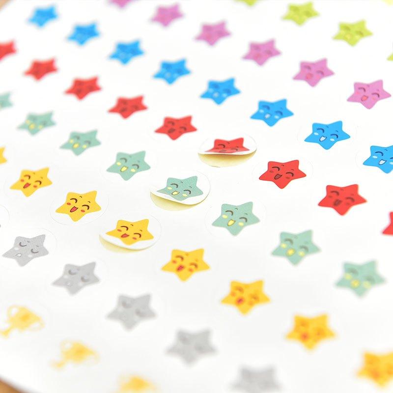 儿童贴画成长自律表奖励记录表幼儿园小学生贴纸宝宝表扬贴小红花当季