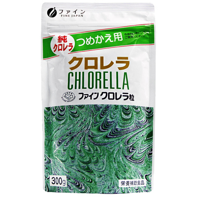 日本進口 FINE破壁小球藻綠藻片1500片/袋裝 300 螺旋藻/藻類