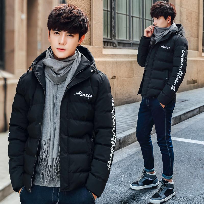 男士棉服保暖冬裝加厚外套男冬季棉衣韓版潮學生青年面包服男棉襖圖片