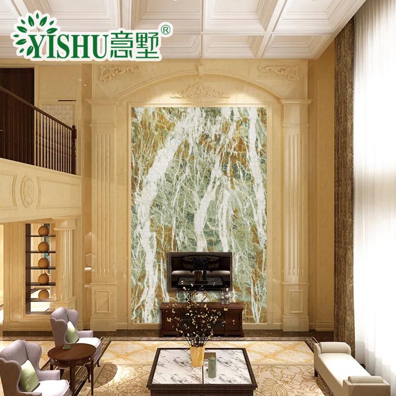 墙复式空间全屋整体墙面定制影视墙罗马柱护墙板组合石材大板背景墙图片