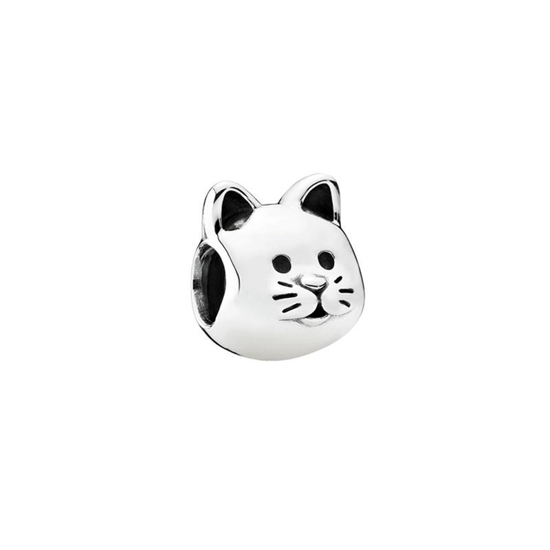 潘多拉(pandora)清新可爱女士小猫纯银串饰