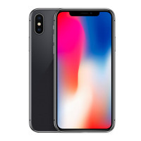 苹果(Apple) iPhone X 海外版 全网通 全屏手机5.8英寸全新未激活 Face ID 深空灰色 256GB