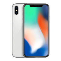 苹果 (Apple) iPhone X 海外版 全网通 全屏手机 5.8英寸 全新未激活 Face ID 银色 64GB