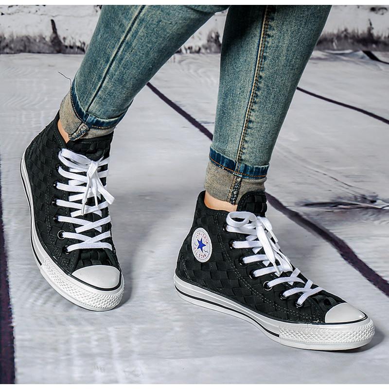 converse/匡威 女鞋男鞋 编织情侣鞋 all star 高帮运动休闲鞋151232