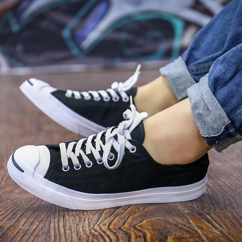 匡威_converse/匡威 男鞋女鞋 2017新款 开口笑板鞋舒适休闲帆布鞋板鞋