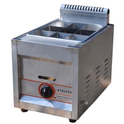 纳丽雅 煤气关东煮机器燃气油炸锅煮面炉麻辣烫机 单缸