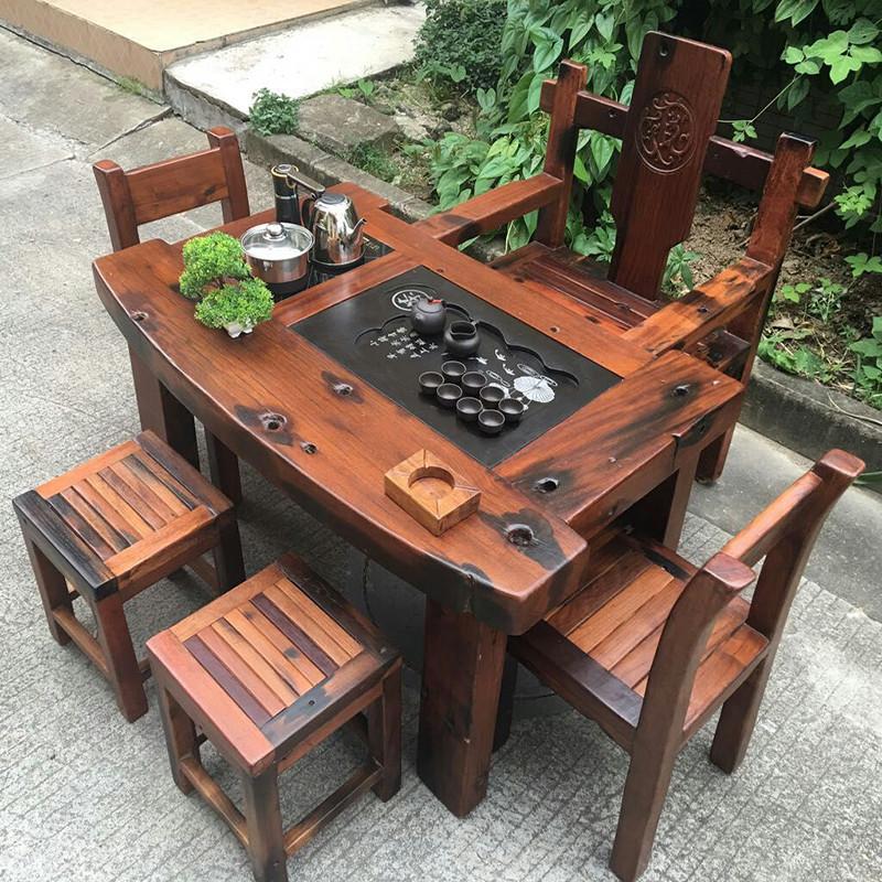 中式桌椅设计图图片