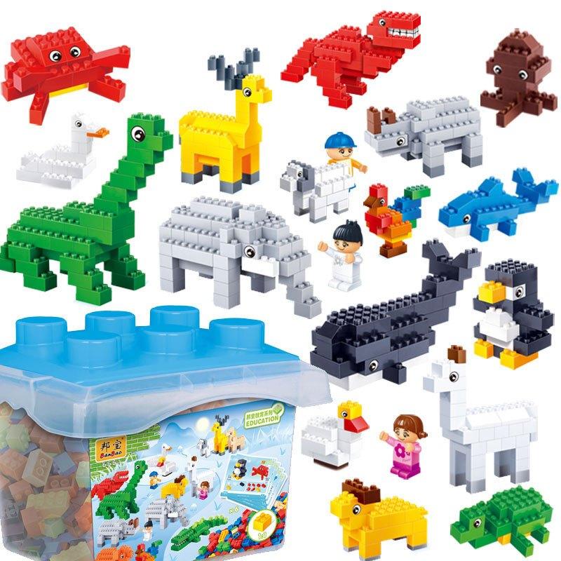 模型之家邦宝小颗粒拼插拼装积木幼儿园儿童益智玩具创意积木早教学习