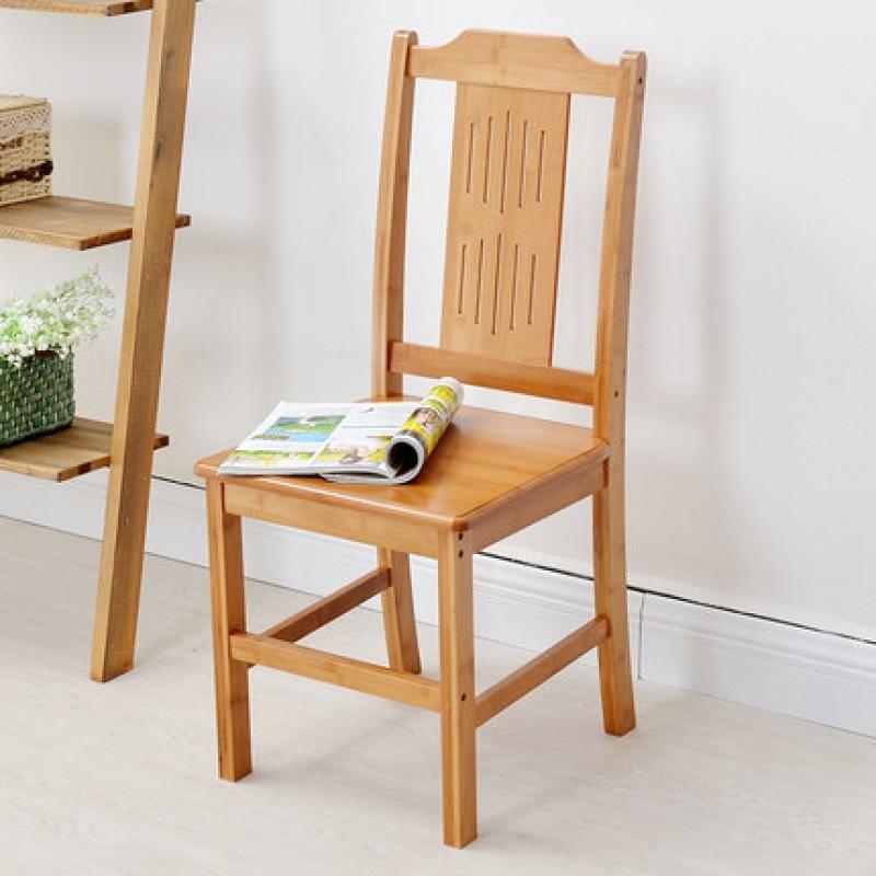 千住明楠竹椅子家用电脑休闲座椅简易办公室靠背椅凳子特价儿童靠椅
