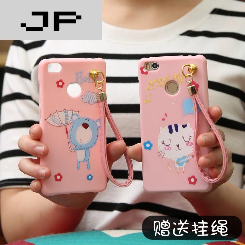jp潮流品牌小米4s手机壳硅胶软 小米4s保护套卡通可爱