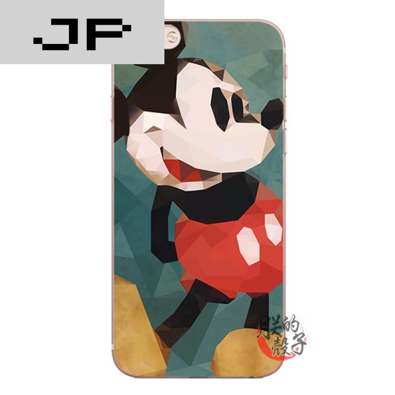 jp潮流品牌可爱卡通马赛克米奇苹果6s iphone7 plus5se原创手机壳全包