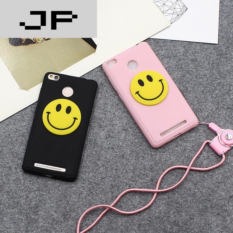 手机套品牌_jp潮流品牌小米红米3s手机壳硅胶软壳红米3s手机套全包带挂绳男女款磨