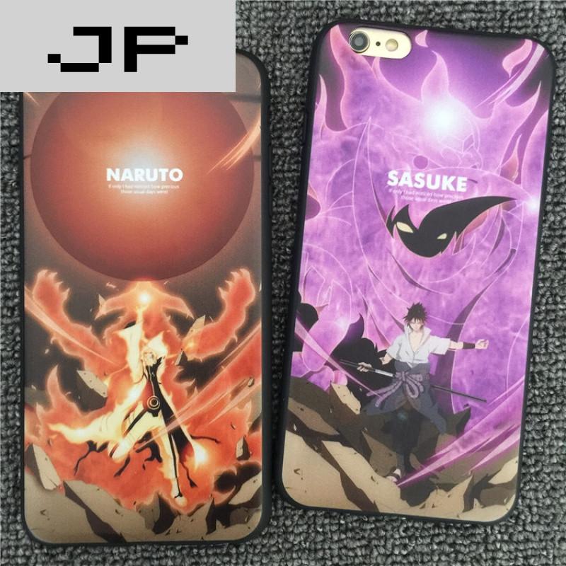 JP潮流品牌火影忍者iphone6plus手机壳手机苹爱看书动漫图片