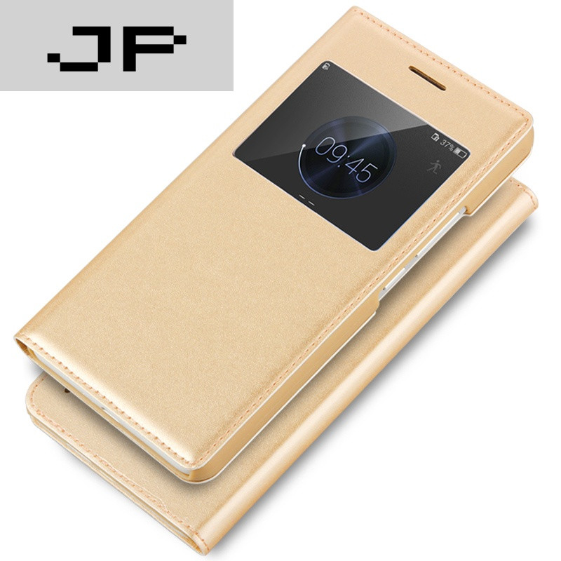 手机套品牌_jp潮流品牌华为荣耀6plus手机壳六p手机套翻盖式防摔保护套外壳皮套薄