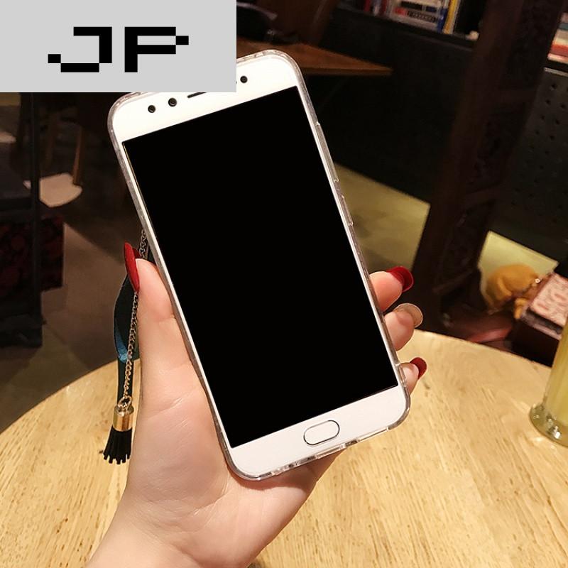jp潮流品牌oppor11手机壳女款边框水钻r11plus全包手机壳保护套潮牌流