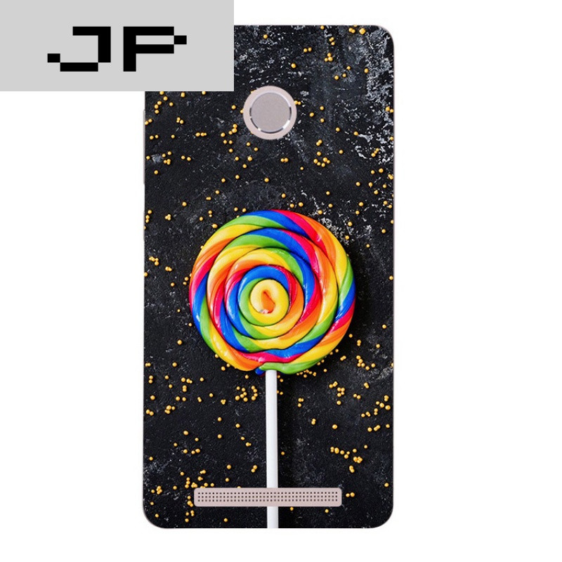 jp潮流品牌创意简约文艺术红米3s note3 pro手机壳男女款软壳防摔套