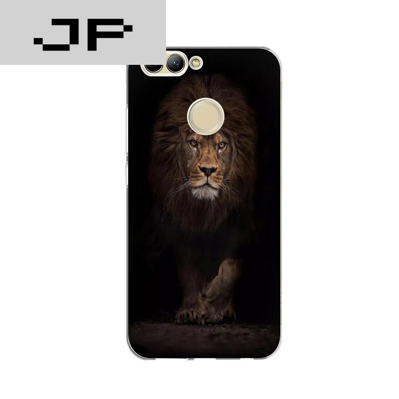 jp潮流品牌华为nova2手机壳nova2plus软硅胶保护套个性创意动物狮子