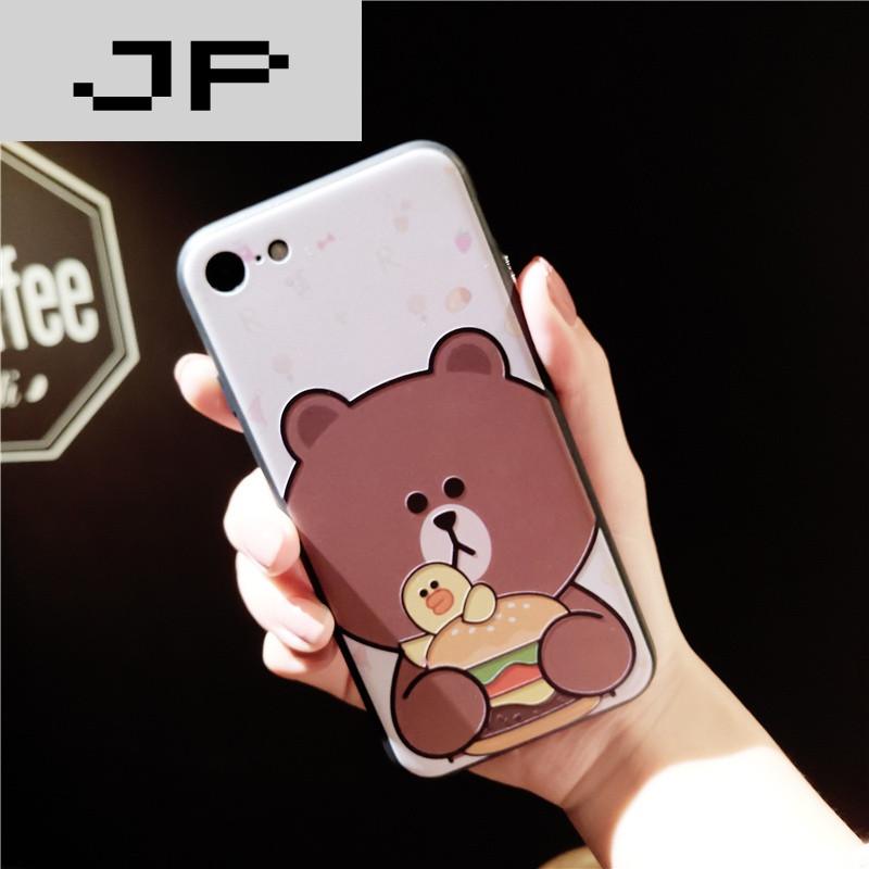 jp潮流品牌可爱兔兔苹果6手机壳硅胶防摔iphone7个性创意情侣6splus超