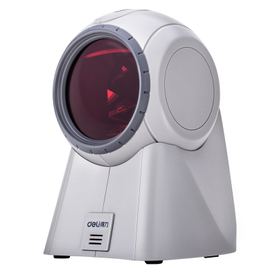 得力14884扫描枪激光扫描器超市收银扫码器机仪条码抢有线扫码枪