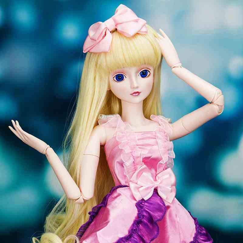 正品精灵梦叶罗丽娃娃公主系列莓果圆舞曲60cm可化妆改装女孩玩具图片