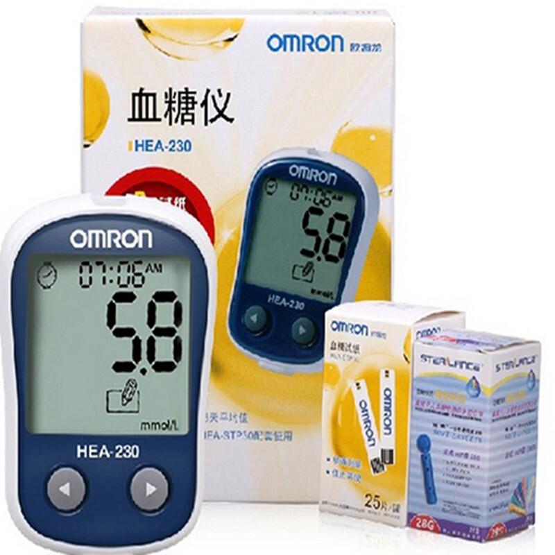 血糖仪血糖测试仪家用血糖测量仪 hea-230机器 试纸