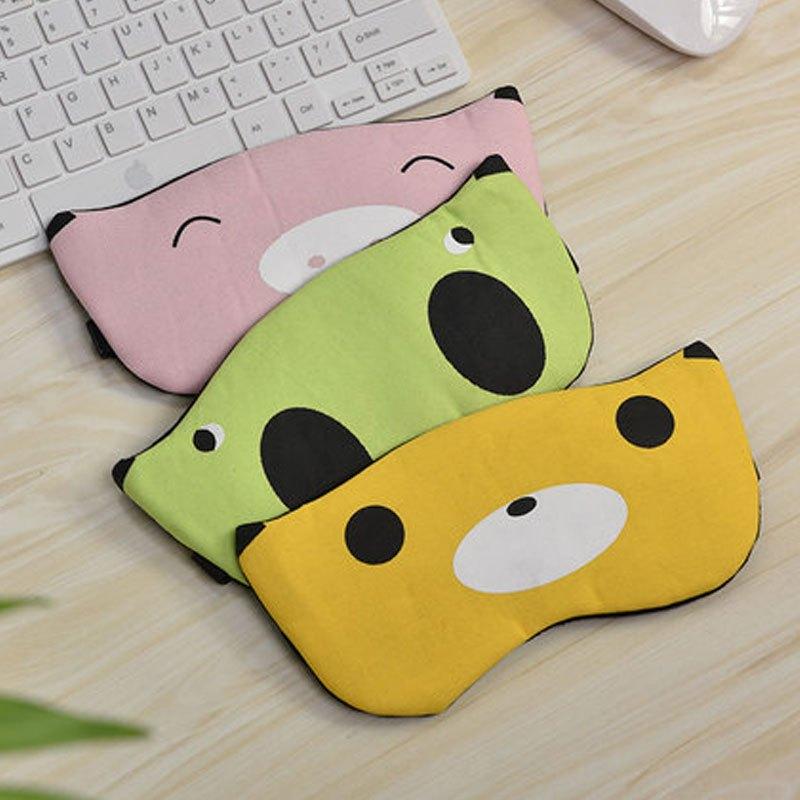 【可调节】创意眼罩可爱卡通个性睡眠遮光午休眼罩女