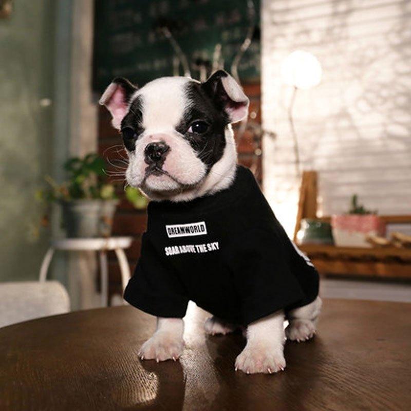 狗狗猫泰迪雪纳瑞衣服比熊幼犬小型犬宠物狗服饰四脚秋装冬装秋冬多色