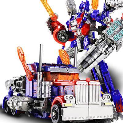 摩彩MOCAI合金變形玩具金剛4擎天黃蜂汽車機器人模型變形兒童合金及塑膠3歲以上原版 擎天戰士