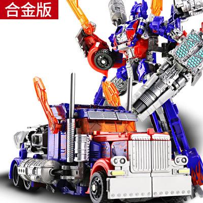 摩彩MOCAI合金變形玩具金剛4金剛5擎天黃蜂汽車機器人模型變形合金及塑膠3歲以上兒童 和金擎天戰士