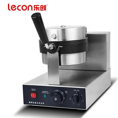 lecon/樂創珍軒LC-HFL01 華夫餅機商用旋轉松餅機咖啡店可麗格子餅電熱翻轉家用華夫爐