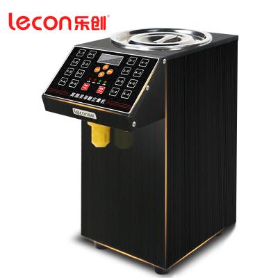lecon/乐创珍轩 全自动商用果糖定量机16格超精准果糖机定量机 奶茶果汁店专用设备