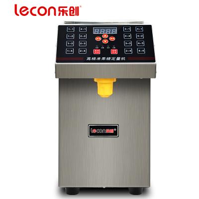 lecon/乐创珍轩 果糖定量机商用16格超全自动精准果糖机定量机 奶茶果汁店专用设备