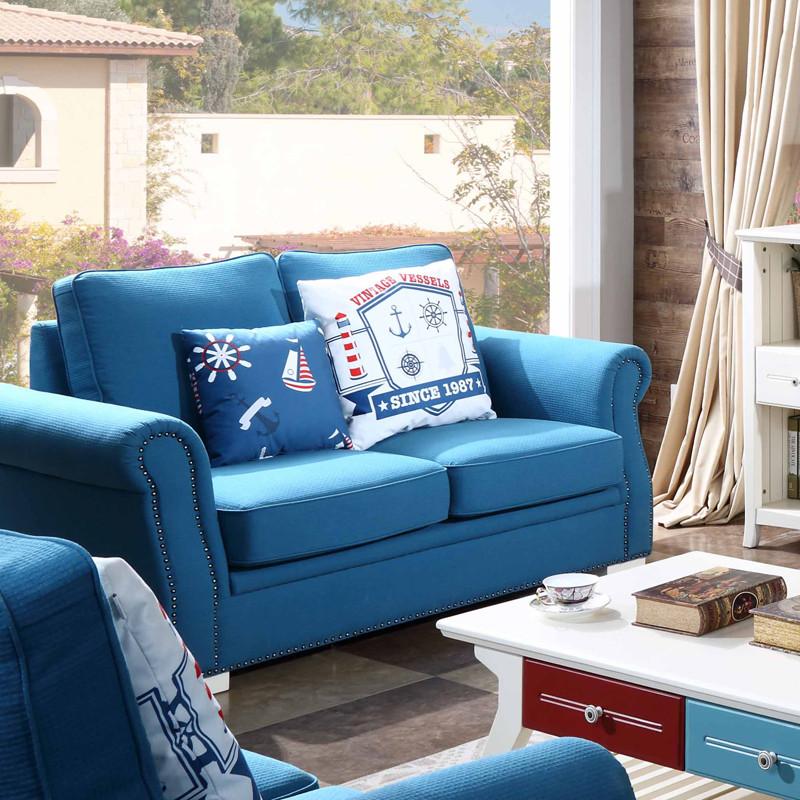 好风景家居北欧沙发 三人位布艺沙发可拆洗沙发 现代小户型客厅沙发50