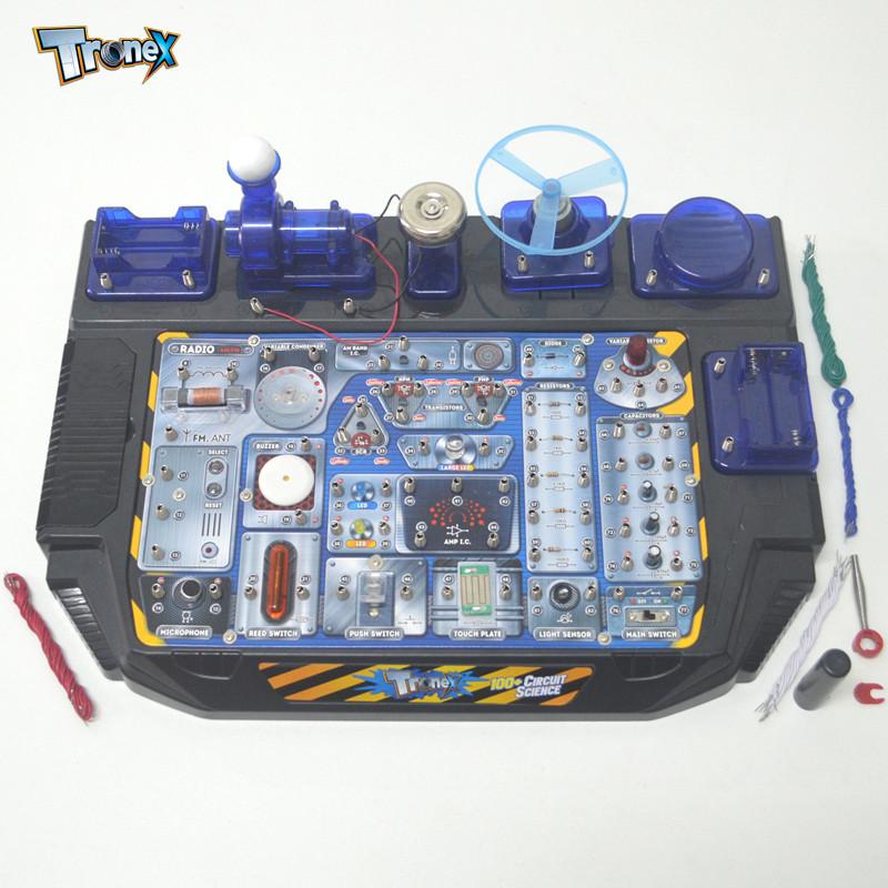 儿童科学实验科技小制作科普diy益智学习小发明材料电路玩具电科学10