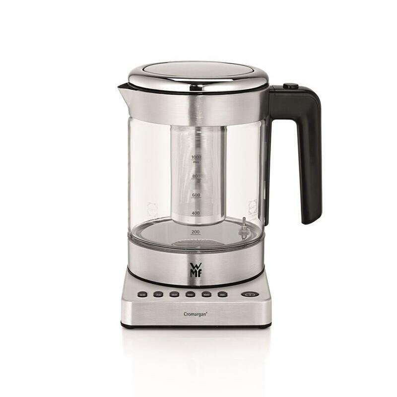 7l电热水壶玻璃水壶泡茶煮茶养生壶 温控水壶 带茶篮0413160011图片
